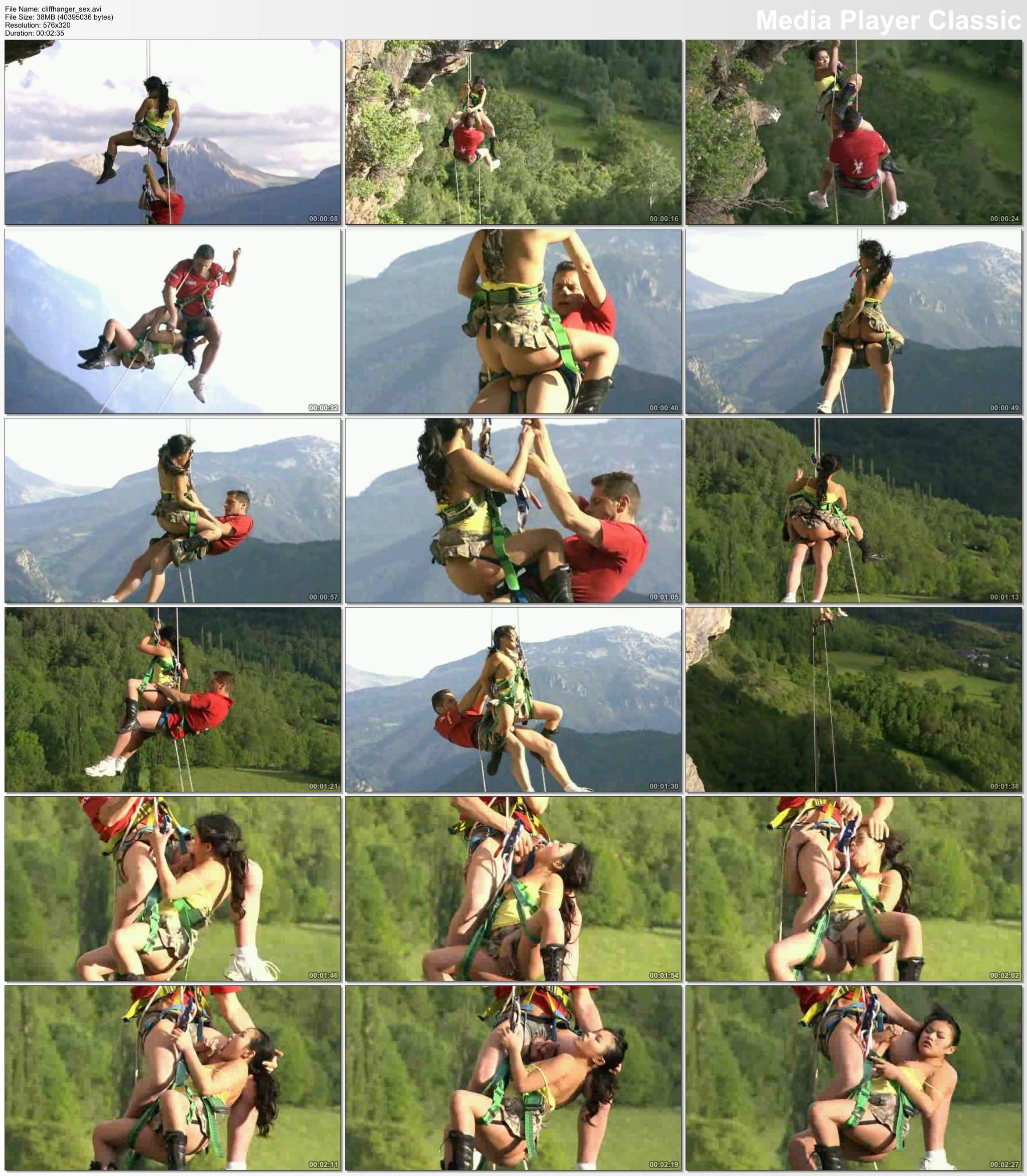 Chopper reccomend climbing fuck rock