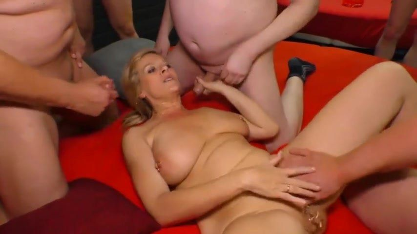 German Porn Games Gangbang Angelika Black