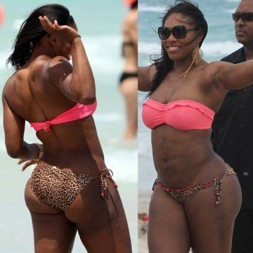 Sexy serena williams naked fucked