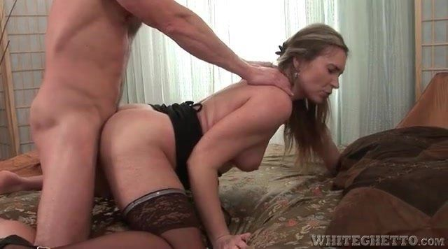 Milf bent and fucked