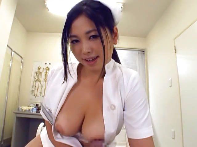 Milf japanese handjob cock and facial