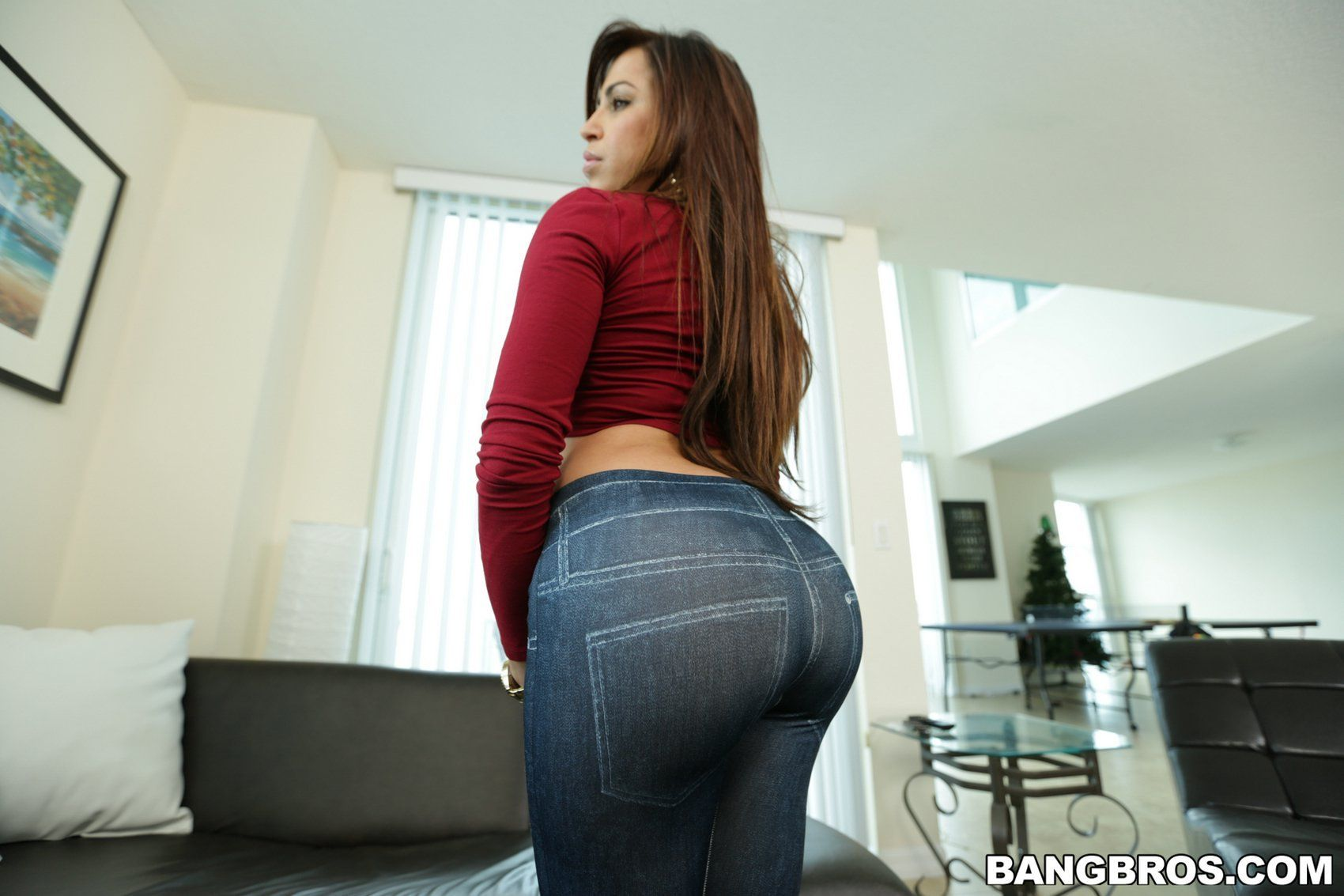 Have removed jeans strip sexy will not