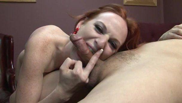 Biting dick