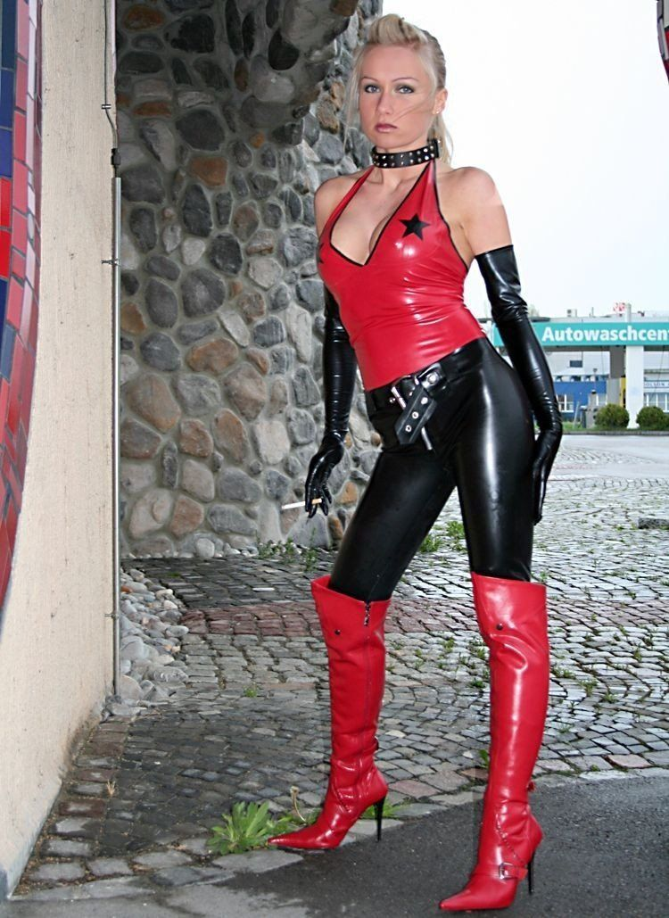 Collision reccomend leather latex pvc