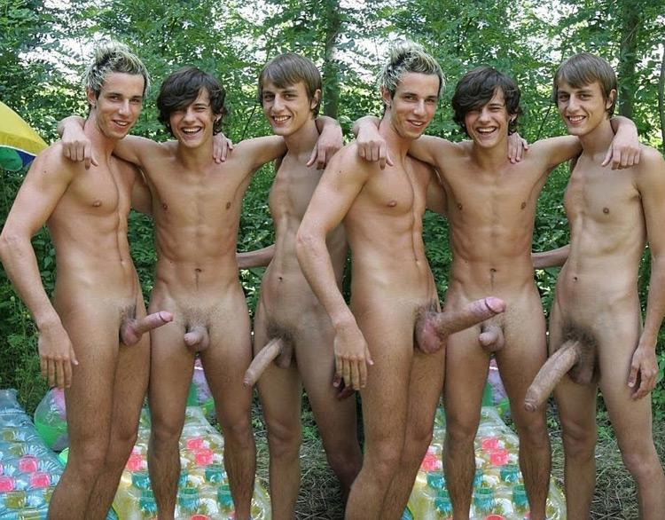 best of Nudist and walk men naked of around women group completely