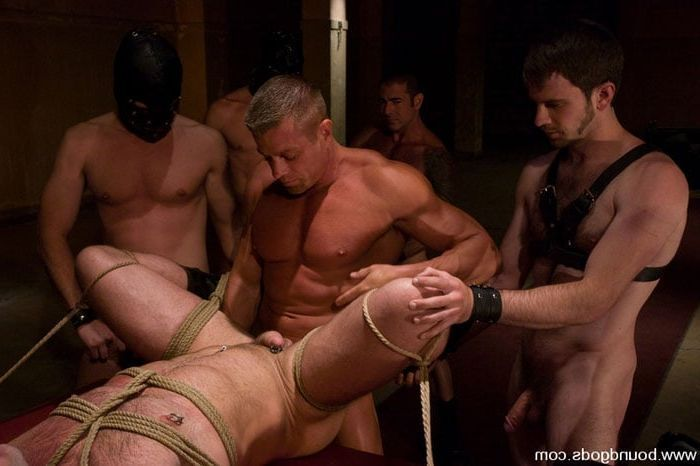 Hot men bondage