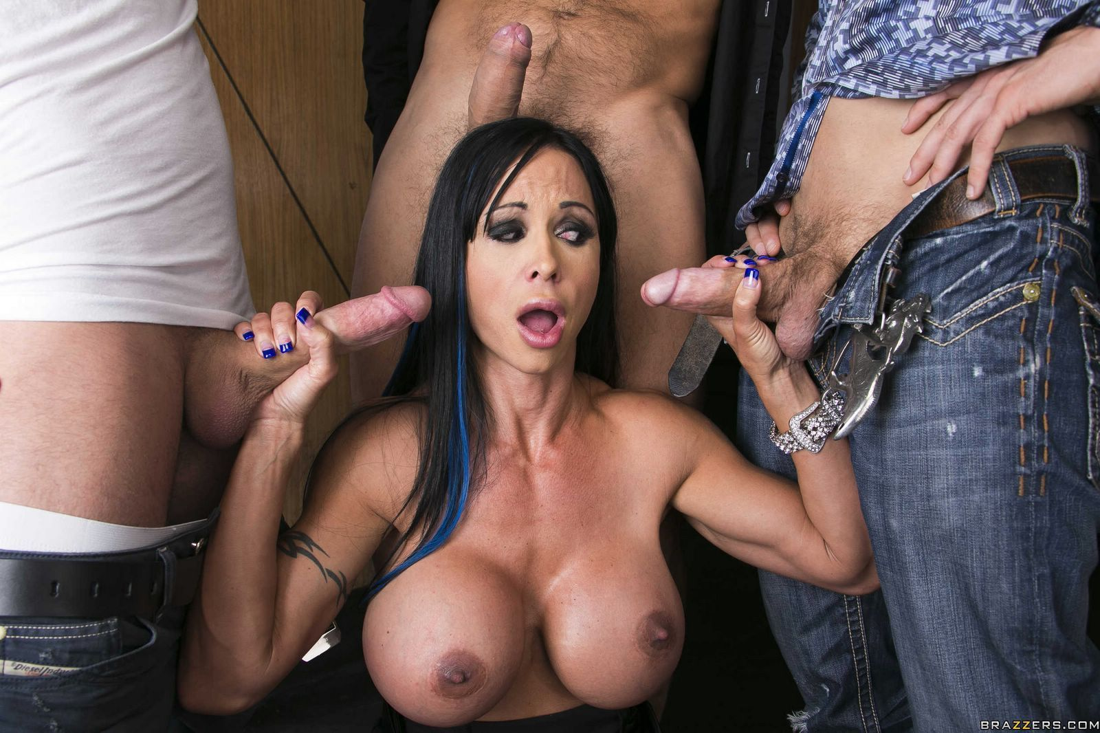 3 Huge Cocks amateur wife sucks huge cock robbery. sex hq pictures free