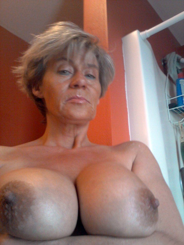 Old big tits
