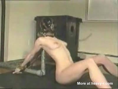 Bondage naked self Nude Women