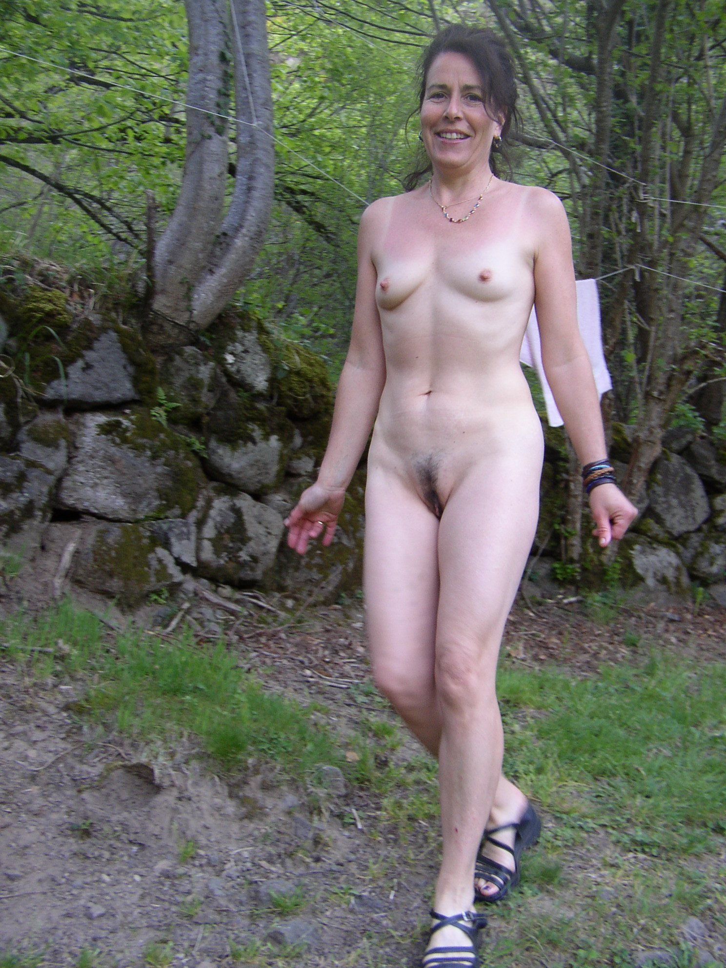 best of Wife outside Free nude