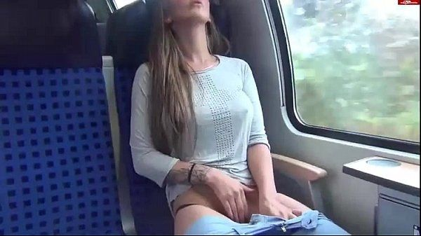 germans fuck on a train