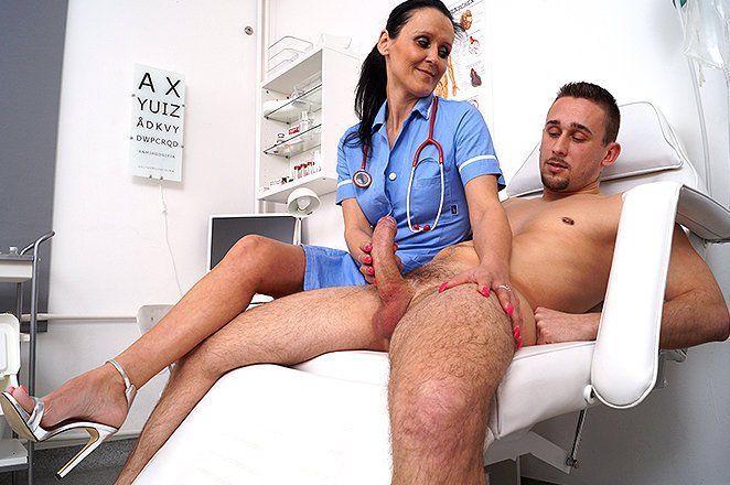 Handjob in hospital