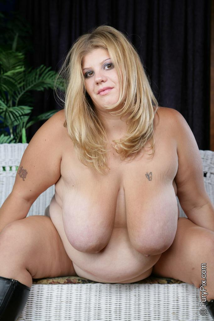 Blonde Chubby Porn