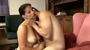Button reccomend Mature milf tries two young studs