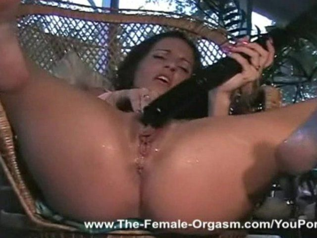 Wet woman orgasm certainly