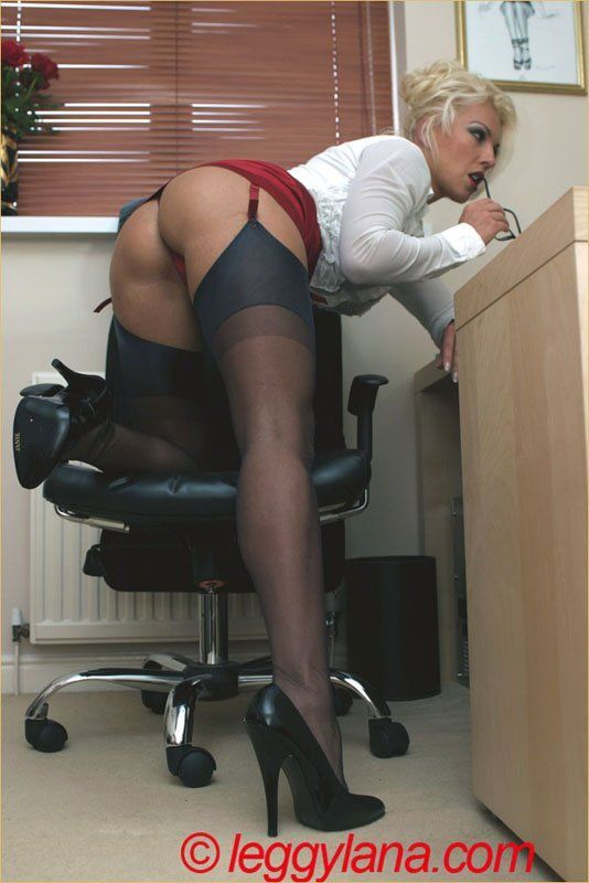 Secretaries in short skirts stockings porn nude photos